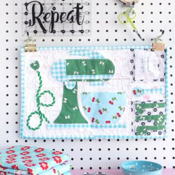 Lori Holt Let's Bake Mini Quilt