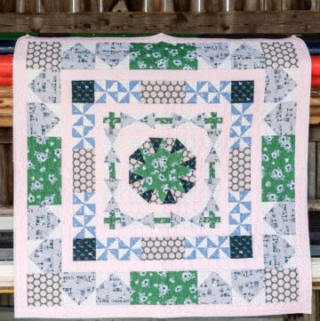 Derby Day Medallion Quilt Pattern