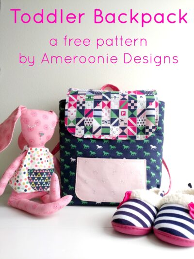 Free Sewing Tutorial: Toddler Backpack Pattern