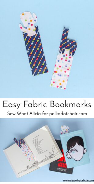Easy Fabric Bookmark Tutorial