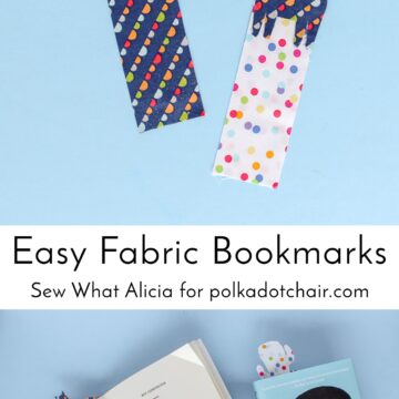 How to make bookmarks out of fabric a fun back to school craft idea - easy fabric bookmarks tutorial #bookmarks #Diybookmarks #easyschoolproject #backtoschool #backtoschoolcrafts #kidscraftsschool #summerreading