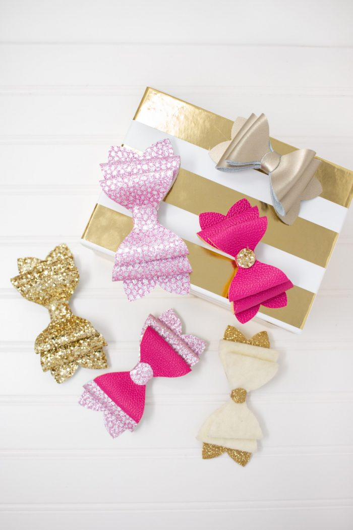 How to make hairbows with the Cricut Maker