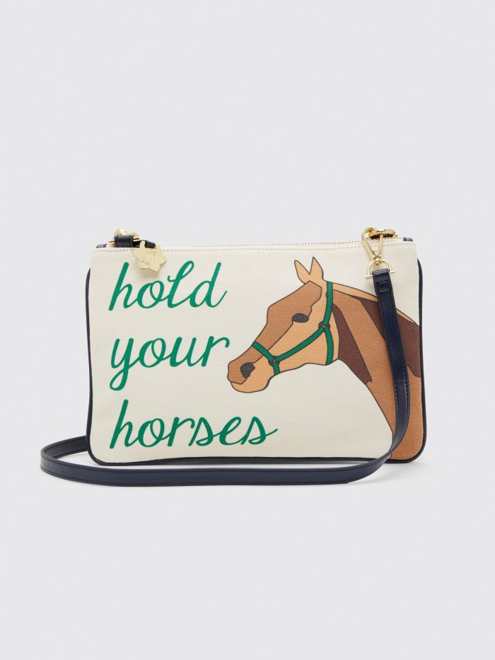 Draper James Clutch - hold your horses