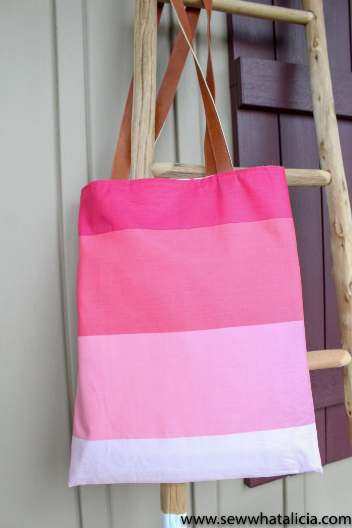 Cute simple tote bag tutorial