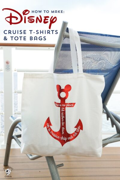 How to make Disney Cruise Shirts & Free Cricut SVG Files