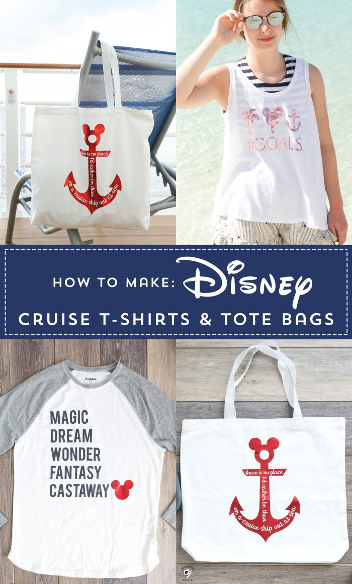 How to make Disney Family Shirts for a Disney Cruise Shirts