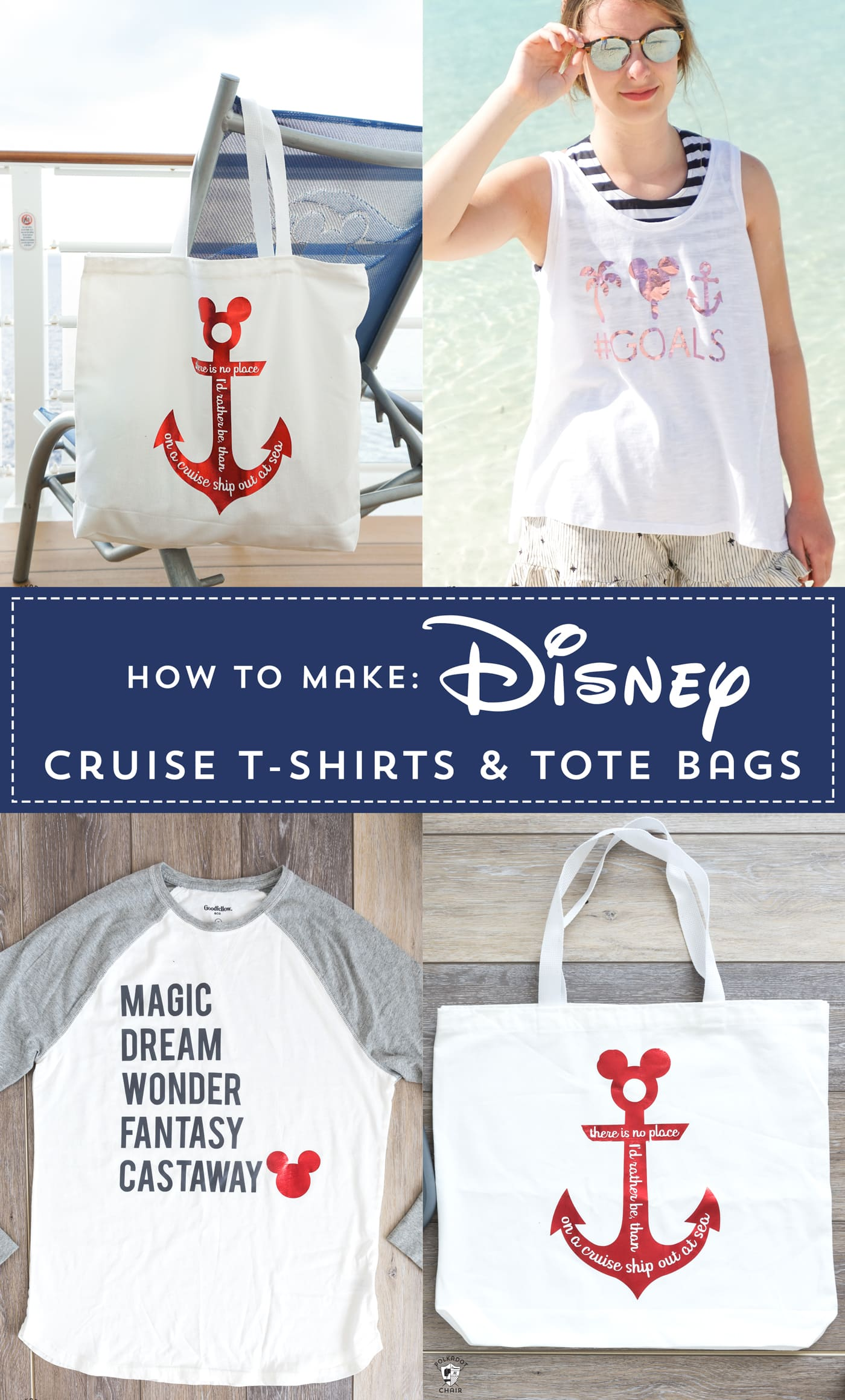 How To Make Disney Family Shirts For A Disney Cruise