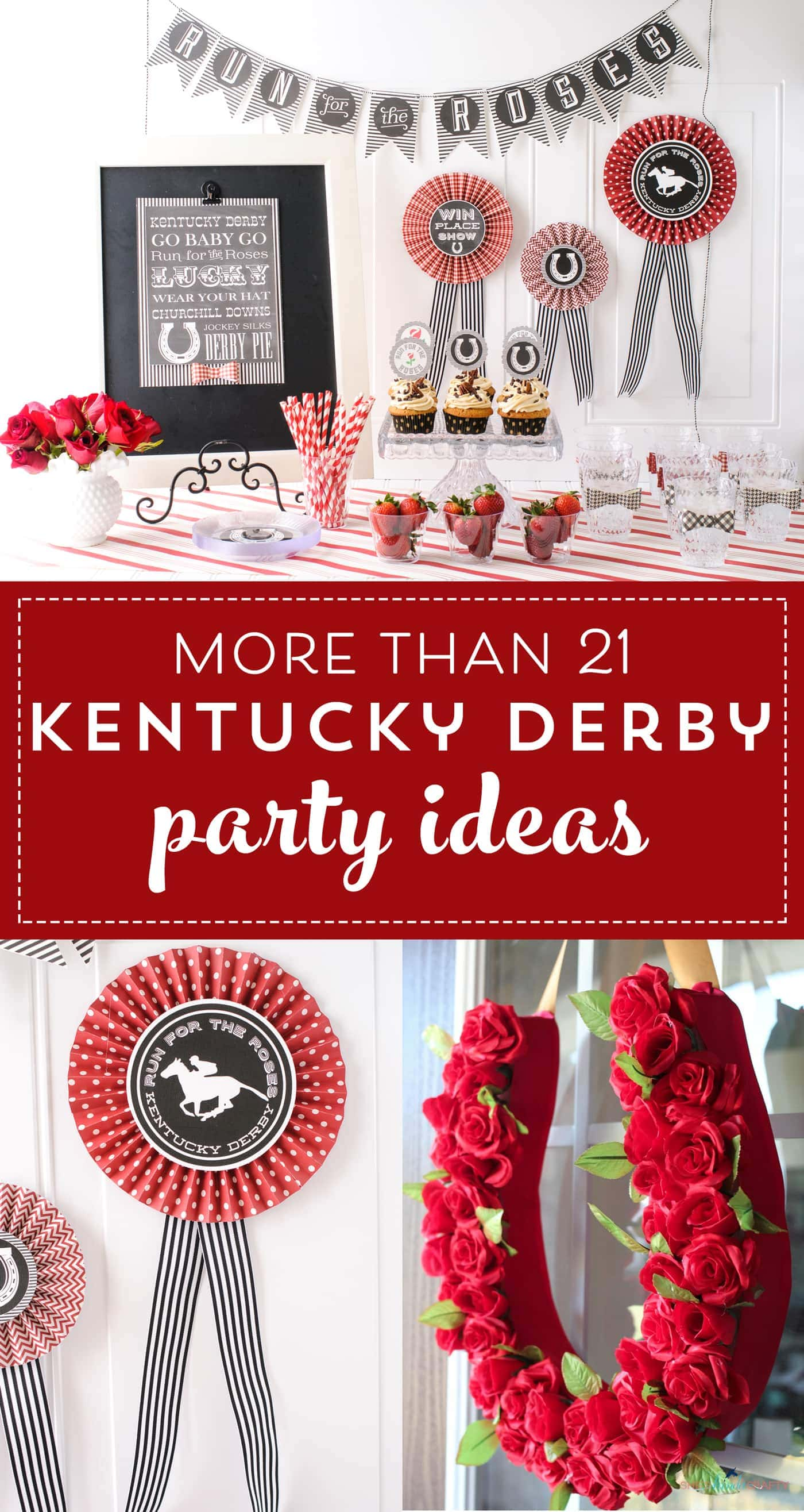 graphic regarding Kentucky Derby Games Printable named 21 Lovable Kentucky Derby Social gathering Plans The Polka Dot Chair