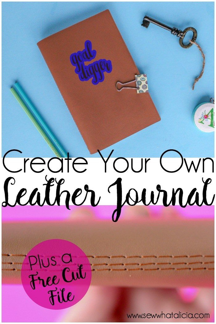 How to create your own leather journal