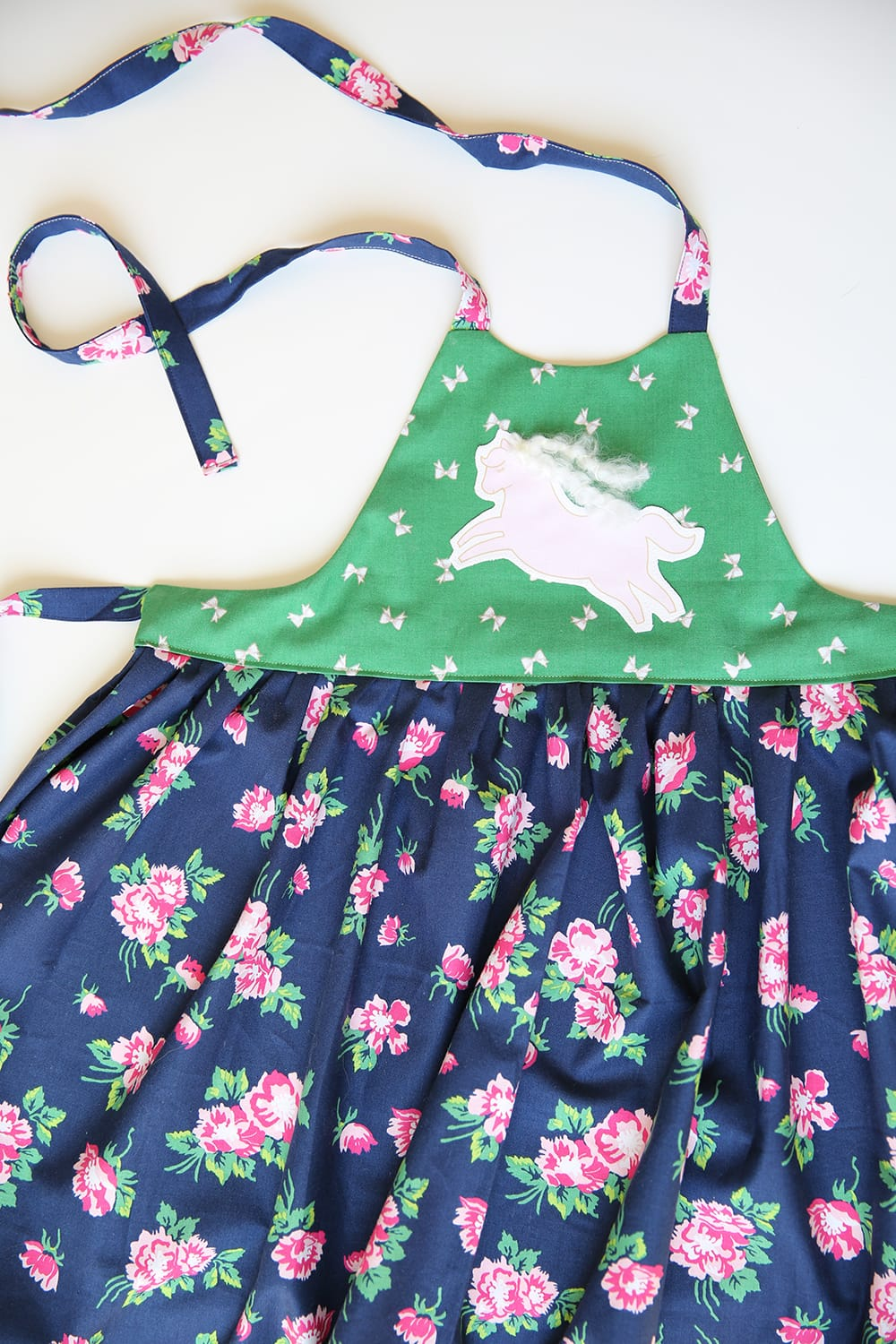 little girls apron sewing pattern