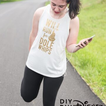 DIY Run Disney Shirts