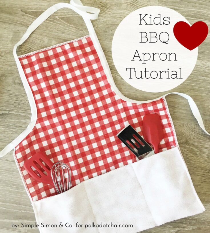 How to make a kids BBQ Apron