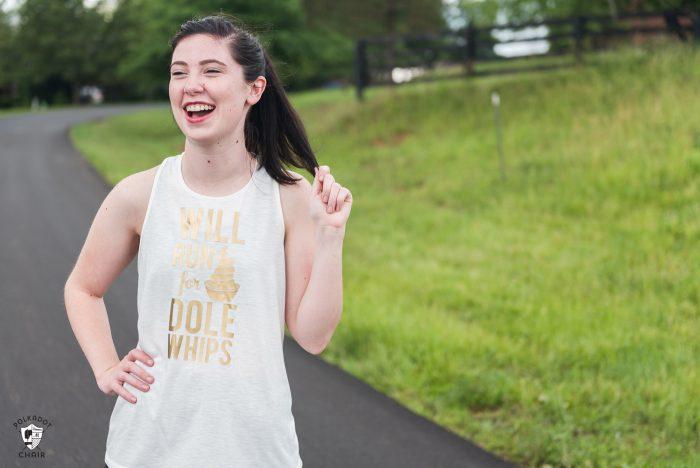 DIY Run Disney Shirts | The Polka Dot Chair