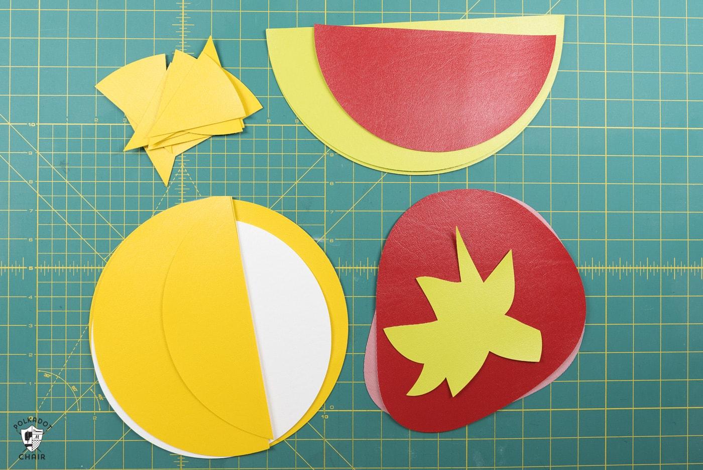 Diy Fruit Crossbody Bag Patterns A Cricut Maker Project