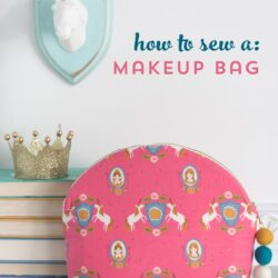 makeup bag on a table
