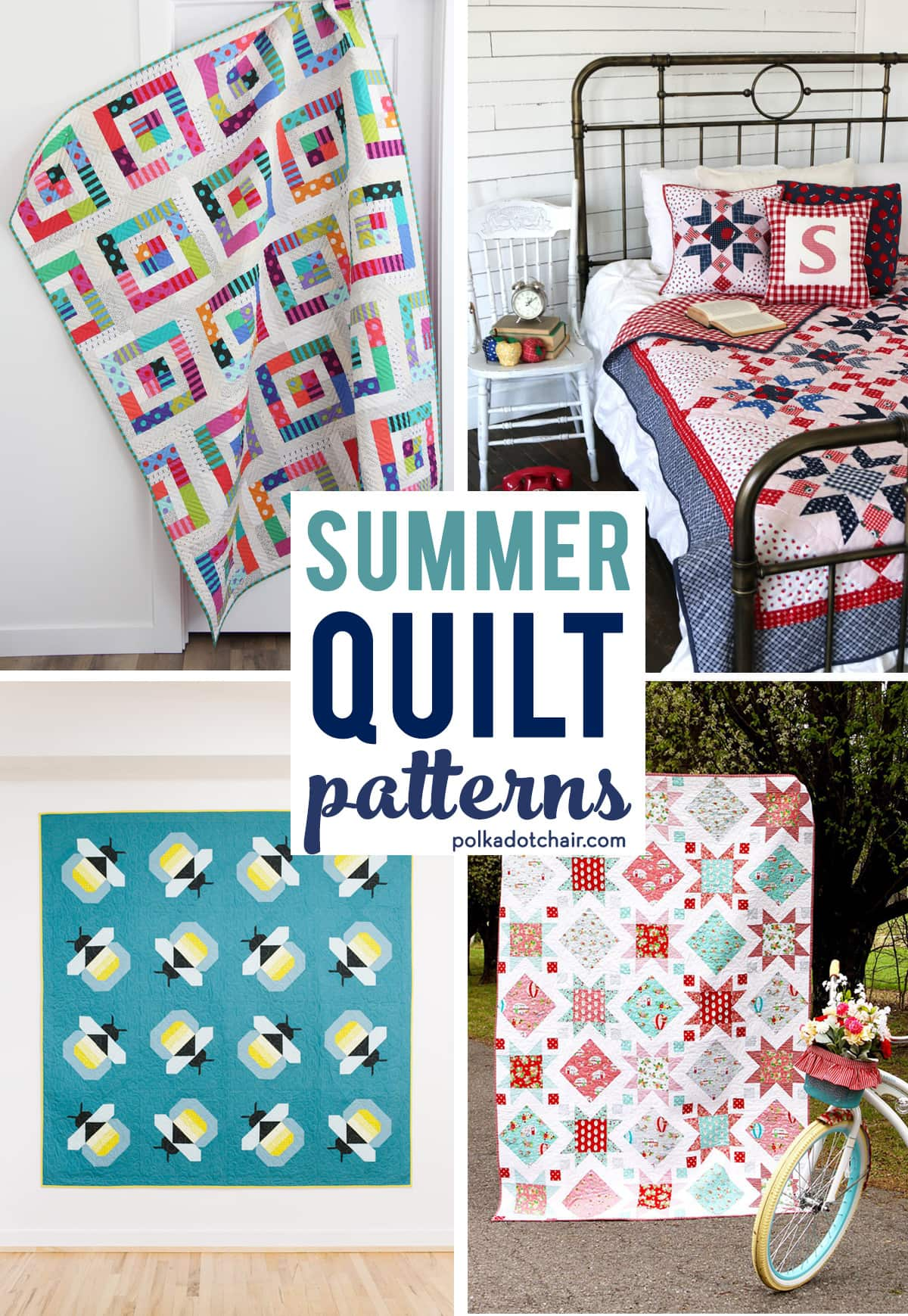 Facebook Is Great For Sharing Pictures >> 9 Fresh and Fun Summer Quilt Patterns to Start this Weekend