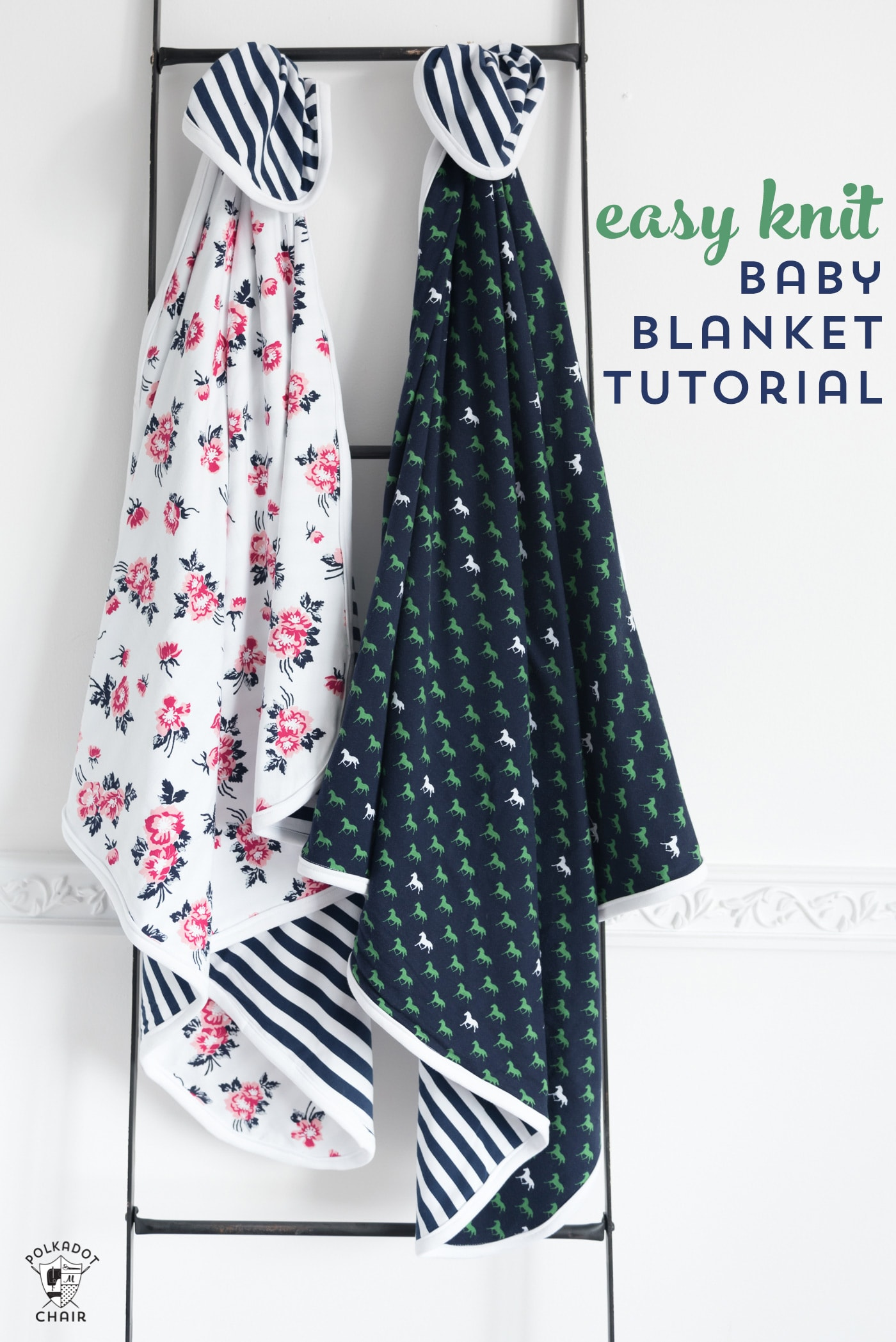 Easy Baby Blanket Patterns - How to Make Baby Blankets with Knit Fabrics