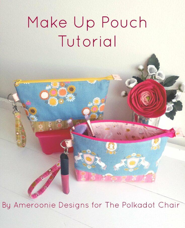 Make a Make-Up Pouch