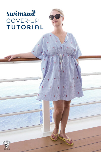 Make a Cute Swimsuit Cover-Up with this Free Pattern