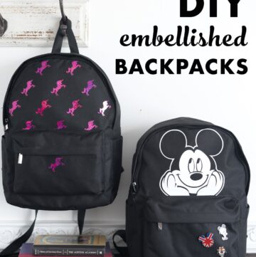 DIY a Custom Backpack with the Cricut EasyPress 2