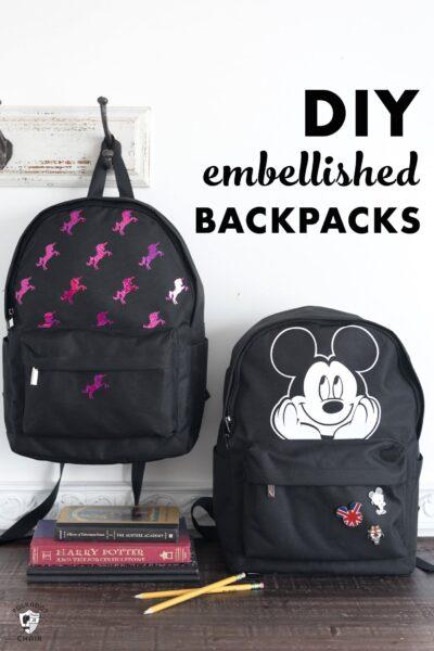 DIY a Custom Backpack with the Cricut EasyPress 2