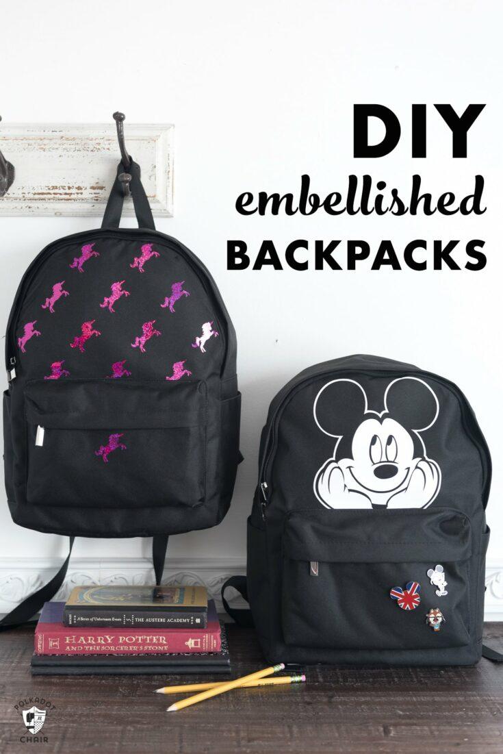 DIY'd Custom Backpack