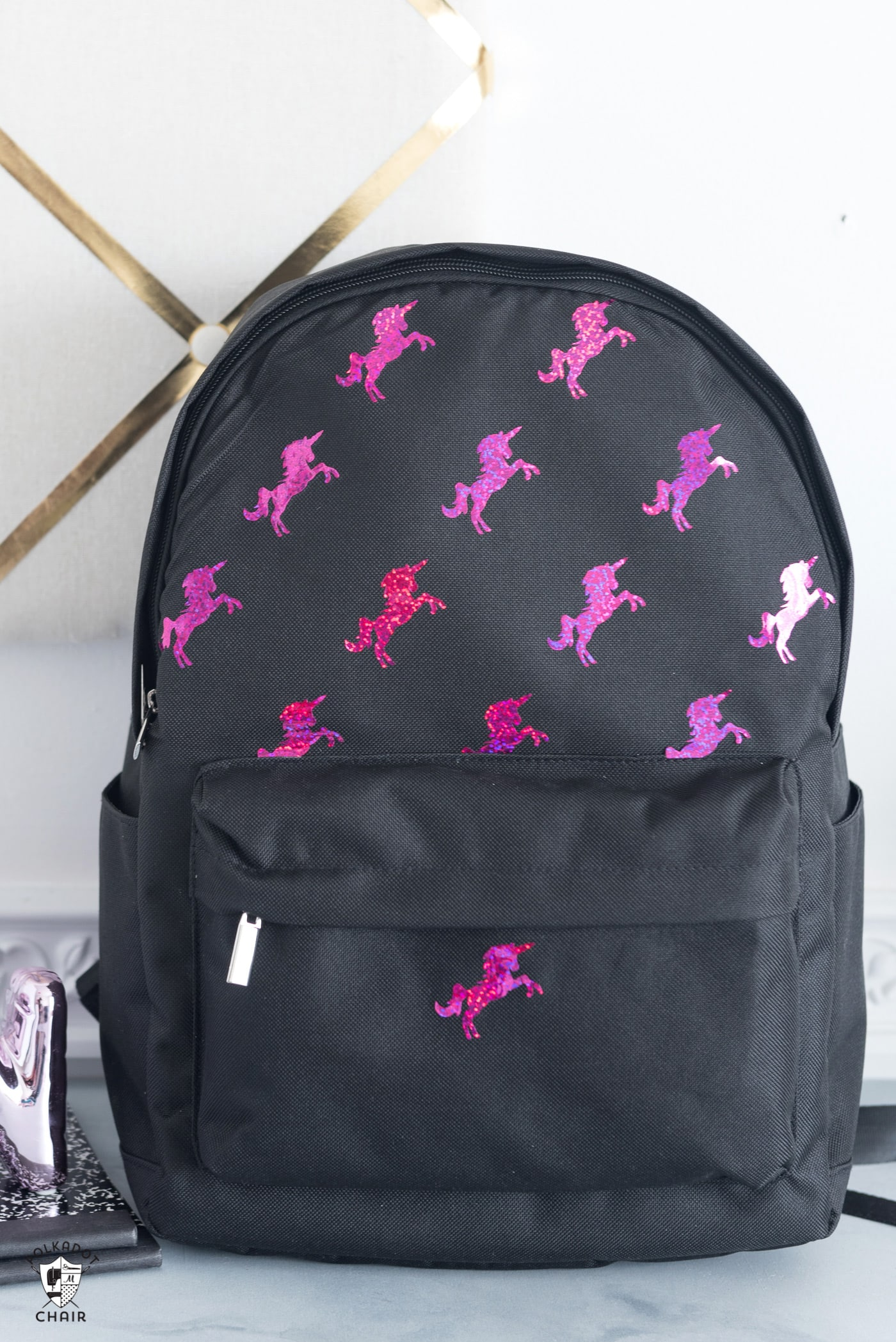 "Recently while I was out shopping I noticed all of the fun backpacks in  stores for back to school. Most of the ""fancy"" ones were pretty expensive. 281f28a31b358"
