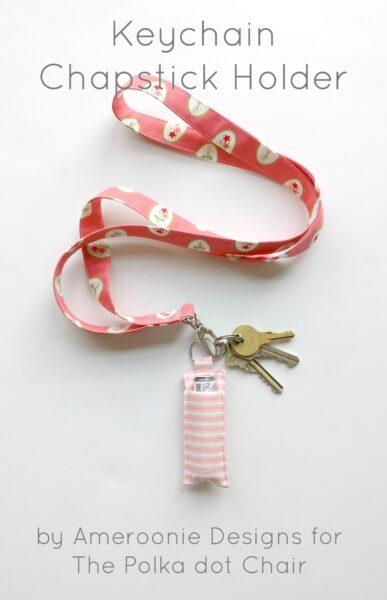 DIY Keychain Chapstick Holder Tutorial