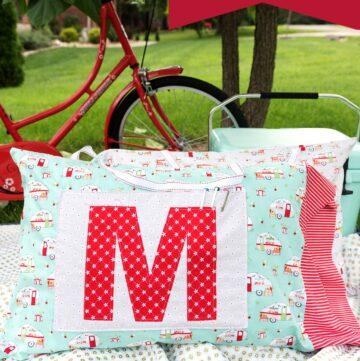 Road Trip Pillowcase Pattern & Free Sewing Tutorial