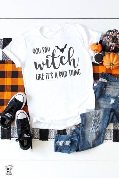 Cute Halloween Sayings & Cricut SVG Files for T-shirts, Mugs, Pillows & More!