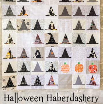 Announcing the Halloween Haberdashery Quilt Along