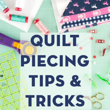 9 Quilt Piecing Tips & Tricks for Halloween Haberdashery Quilt