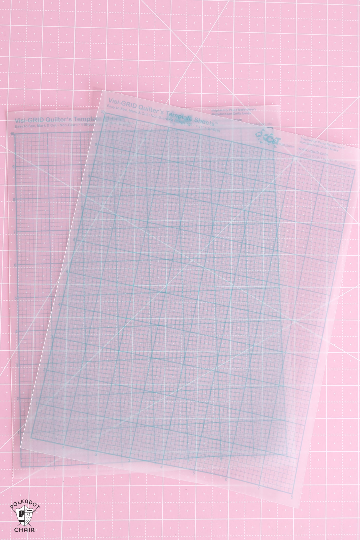 you can also trace the template in the pattern onto a piece of template plastic and cut it out this will be much sturdier than using just a regular piece