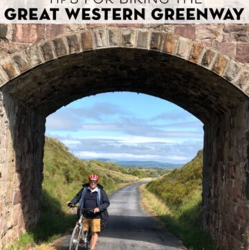 Biking the Great Western Greenway in Ireland