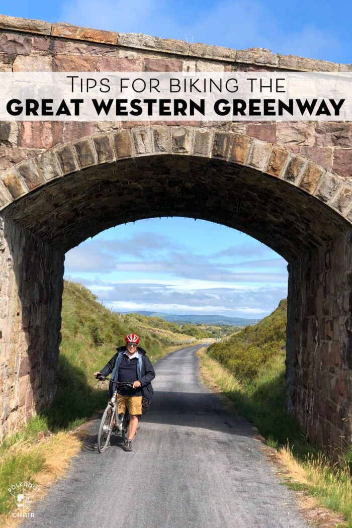 Great Western Greenway in Ireland