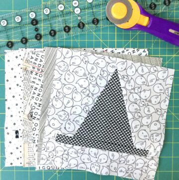 Halloween Haberdashery Quilt Along: Cutting TIps