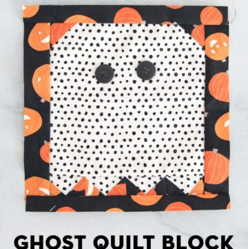Ghost Quilt Block Tutorial