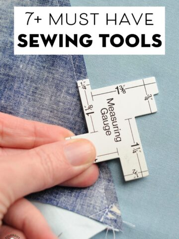 must have sewing tools for beginning sewers