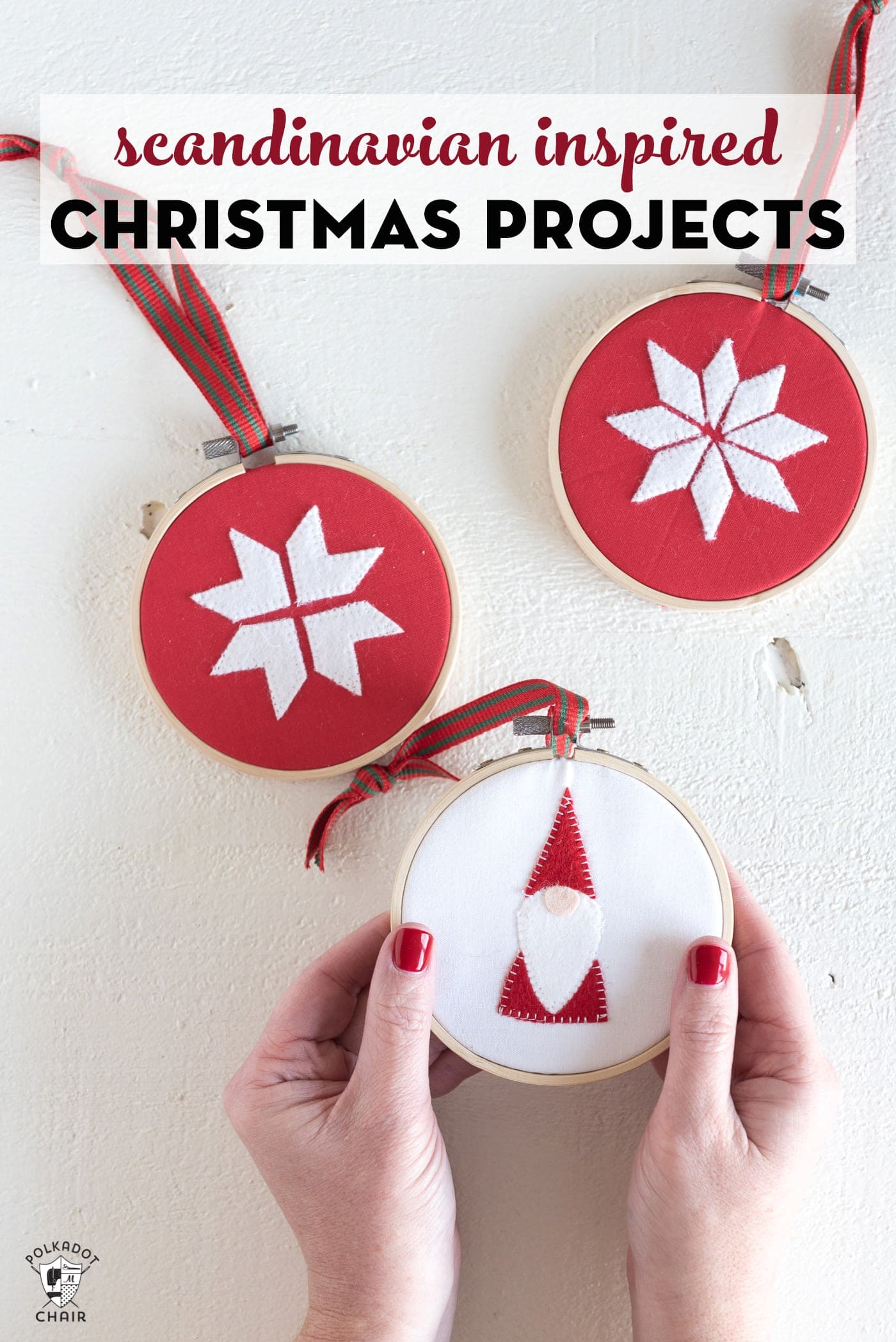 9 Scandinavian Inspired DIY Christmas Decorations