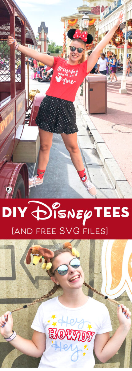 DIY Disney t shirts