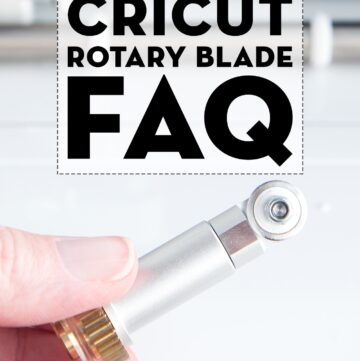 Answers to your Frequently Asked Questions about the Cricut Rotary Blade