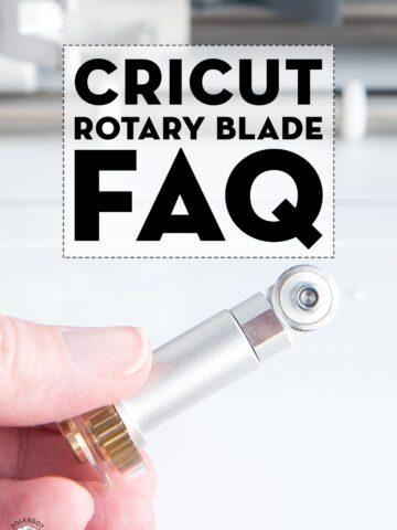 Cricut Maker Rotary Blade