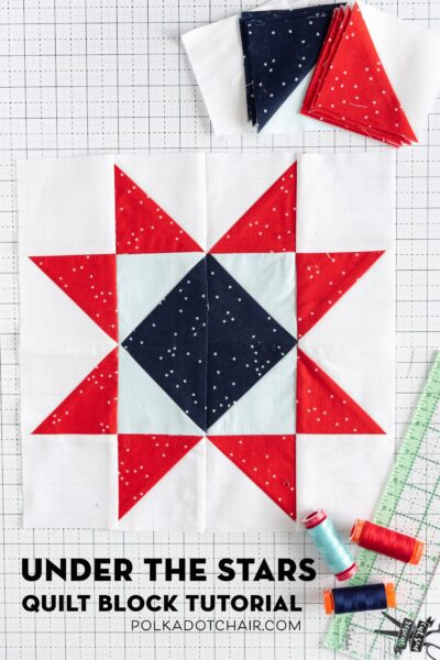 Under the Stars Quilt Block Pattern
