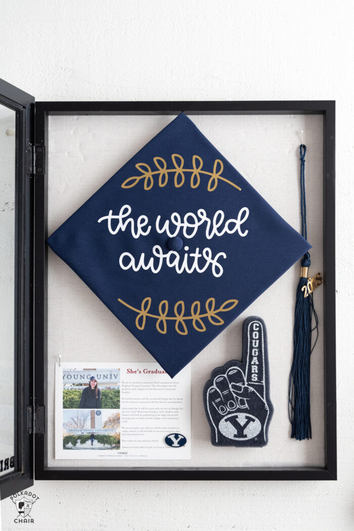 Diy Graduation Cap Decorating Ideas Using Cricut Iron On