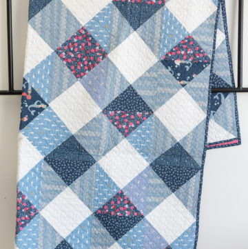 Gingham Daydream Quilt Pattern – Updated and Refreshed!