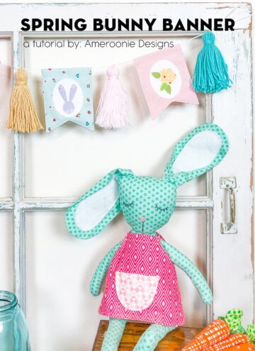 Easter Bunny Banner Tutorial