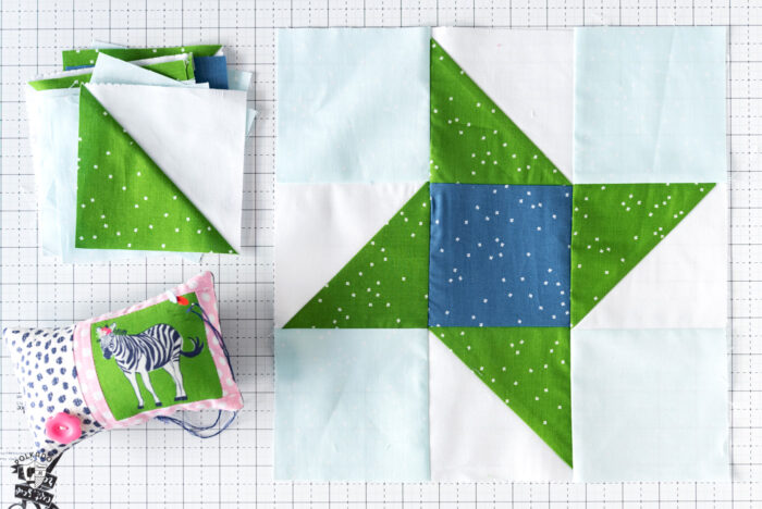 Lake Life Quilt block tutorial