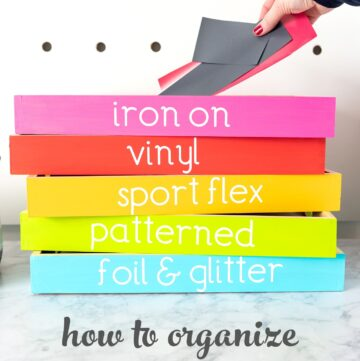 Colorful Craft Room Organization Ideas