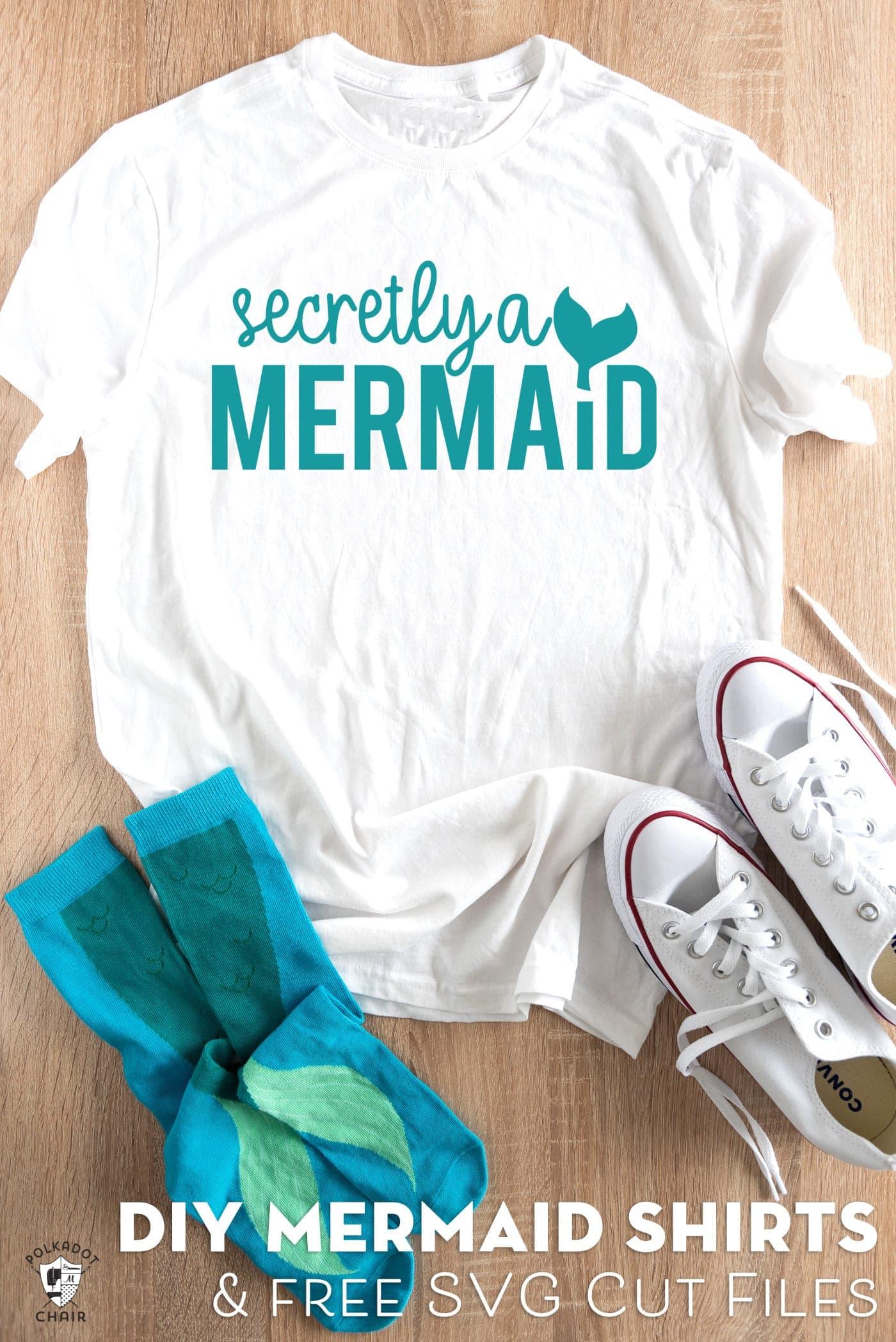 Mermaid SVG Cut Files for Cricut Machines | The Polka Dot ...
