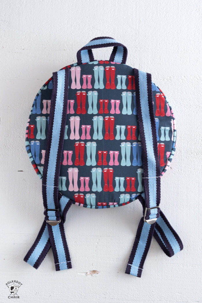 round backpack pattern
